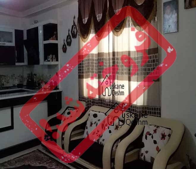 خرید آپارتمان دو خواب شیک در قشم - 90 متری - نورگیر - خوش نقشه