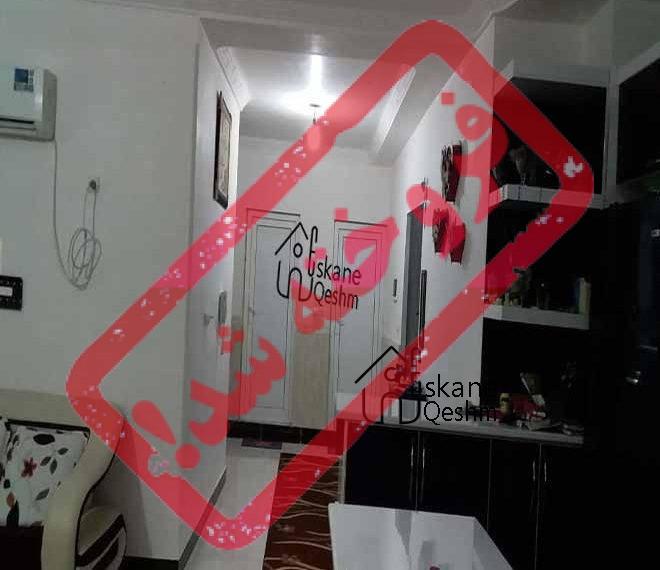 خرید آپارتمان دو خواب شیک در قشم - شهرک نریمان قشم - بسیار لوکس و مرتب - 3 سال ساخت - 2 خوابه