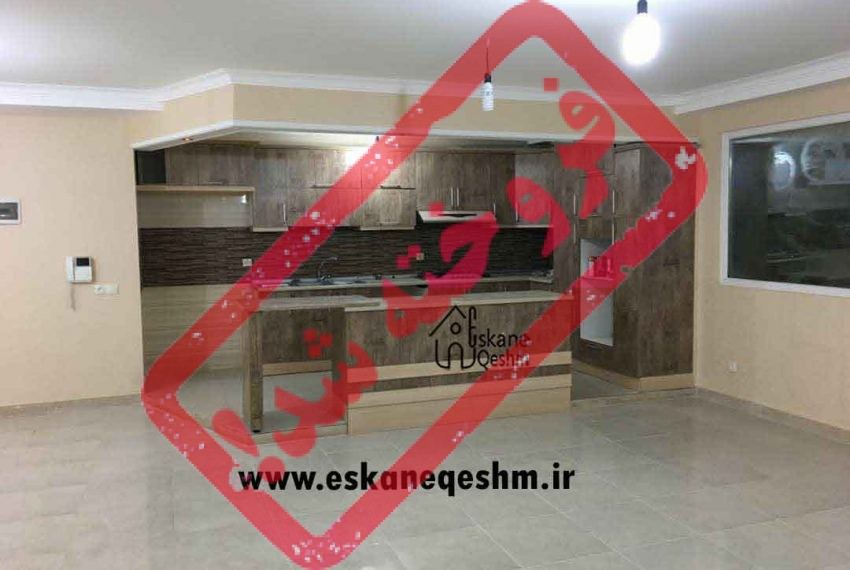 آپارتمان آشپزخانه شیک و لاکچری با قیمت مناسب الهیه قشم