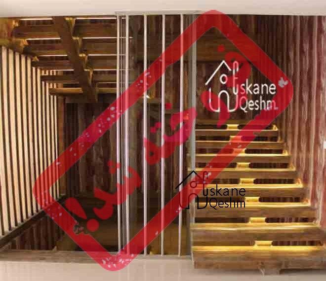 خرید خانه 3 خواب در قشم چوبی