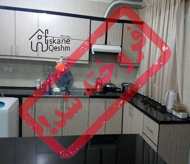 فروش آپارتمان دو خواب نو ساز در قشم | دو ( 2 )  سال ساخت  | قیمت 220 میلیون تومان