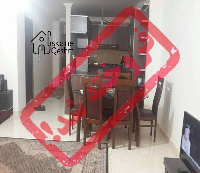 رهن و اجاره آپارتمان مبله در قشم با وسایل کامل مسز ناهار خوری ، تلویزیون ، دو خواب | 2 خوابه | قیمت مناسب