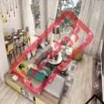 فروش آپارتمان دو خواب نوساز در قشم _ خرید اپارتمان قابل تبدیل به یک خواب اجاره شبانه