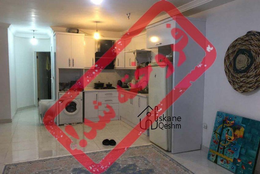 فروش آپارتمان در قشم | سام و زال | یک خواب